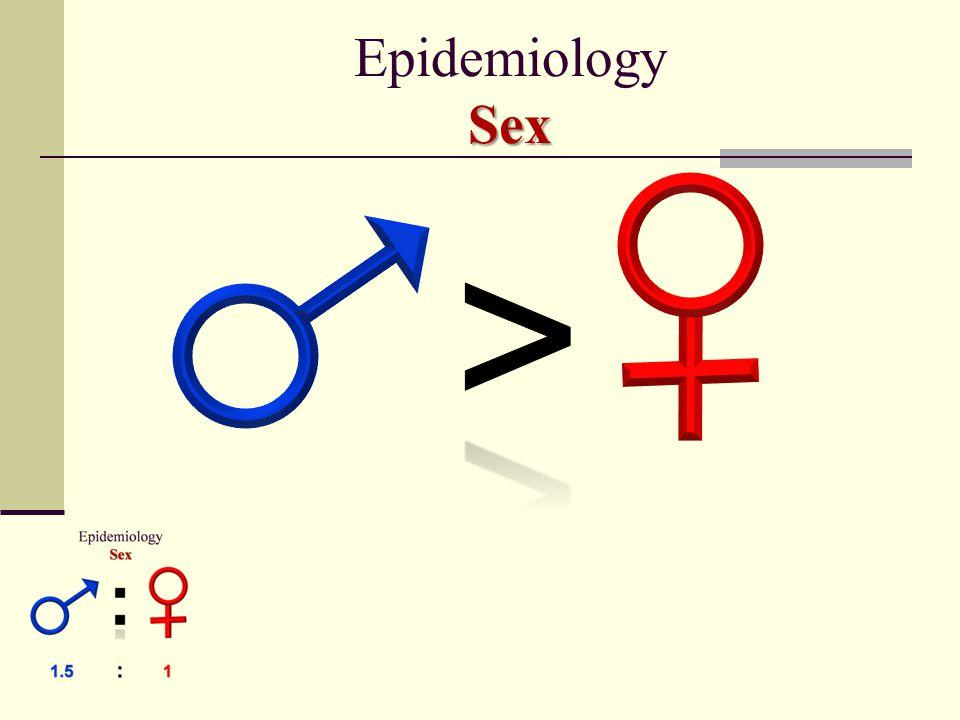 Epidemiology Sex >