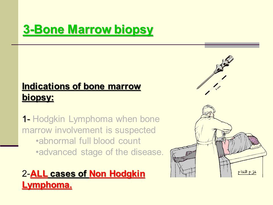 3-Bone Marrow biopsy Indications of bone marrow biopsy: