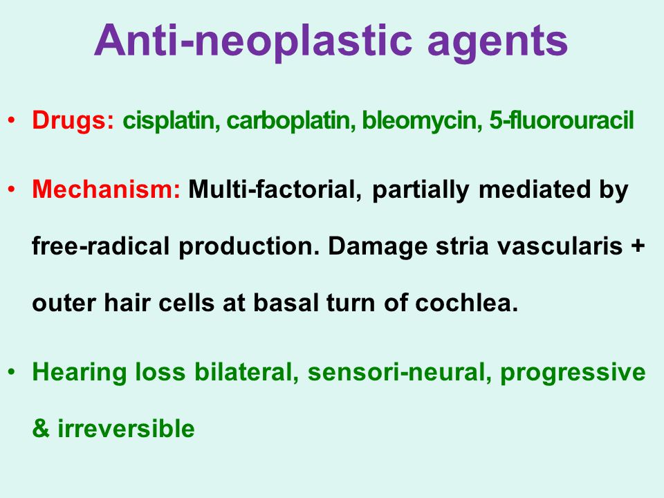 Anti-neoplastic agents
