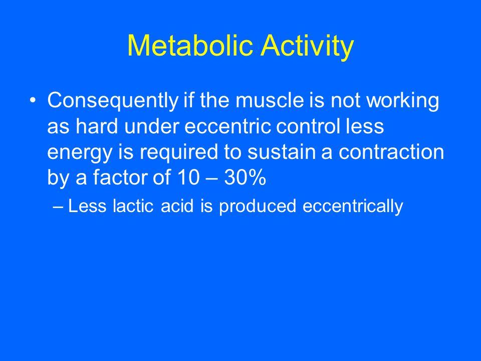 Metabolic Activity