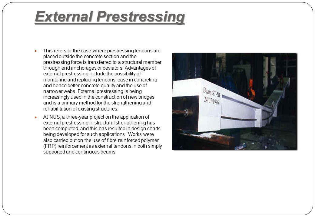 External Prestressing