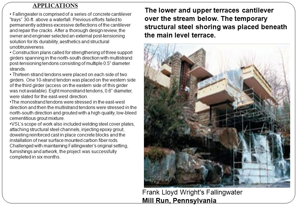 Frank Lloyd Wright s Fallingwater Mill Run, Pennsylvania
