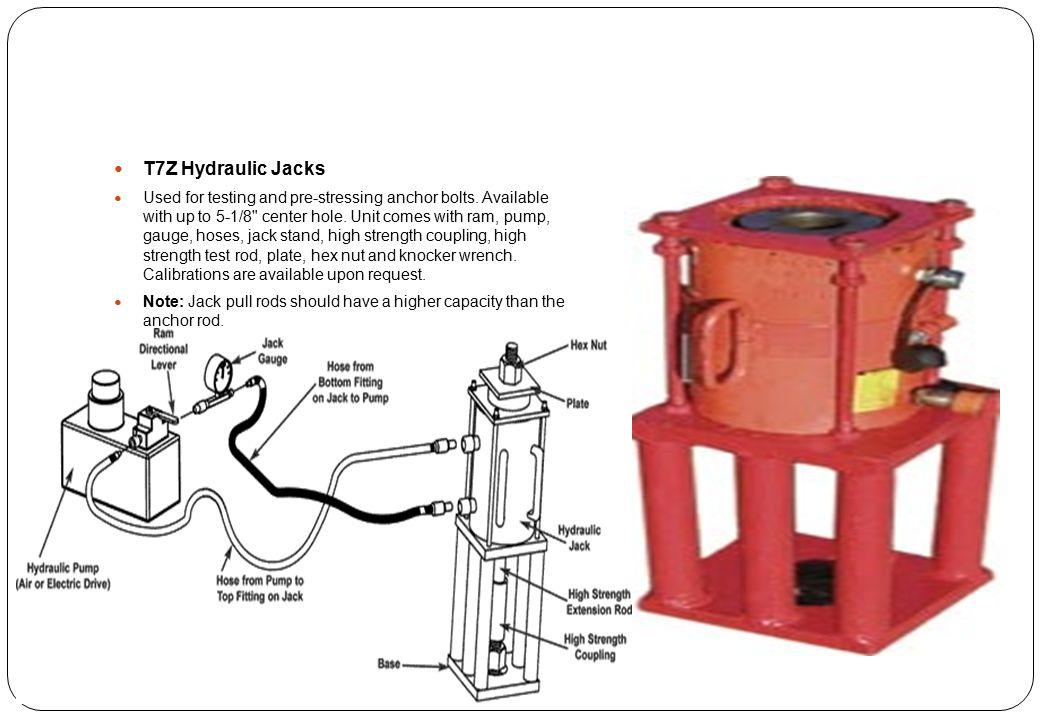 T7Z Hydraulic Jacks