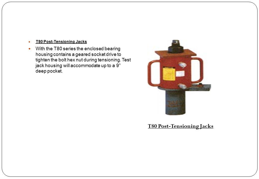 T80 Post-Tensioning Jacks