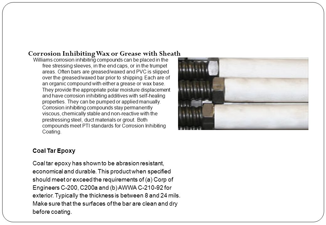 Corrosion Inhibiting Wax or Grease with Sheath