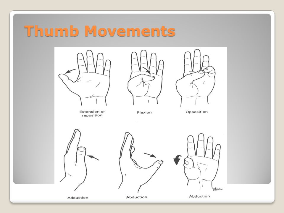 Thumb Movements