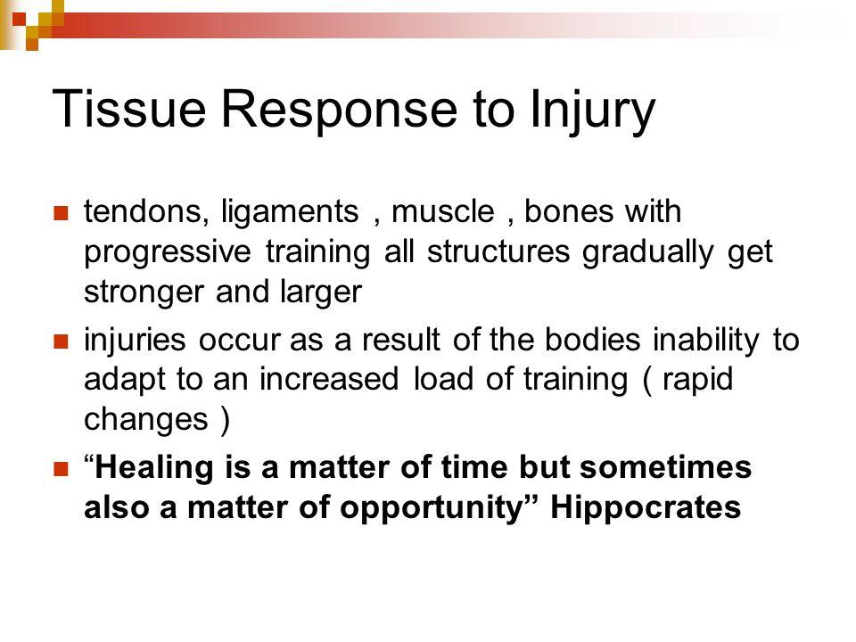 Tissue Response to Injury