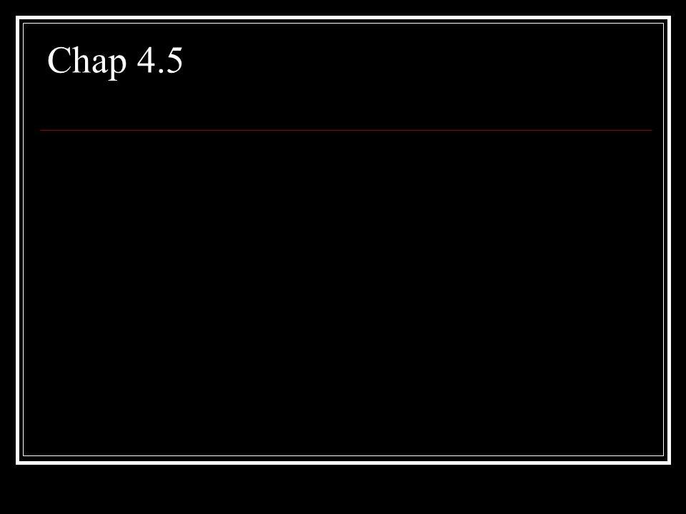 Chap 4.5