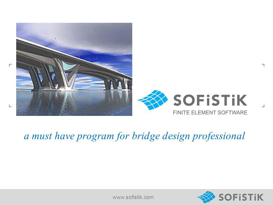 a must have program for bridge design professional