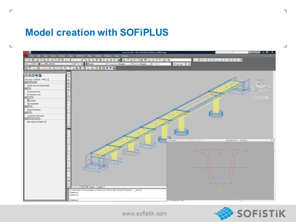 Model creation with SOFiPLUS