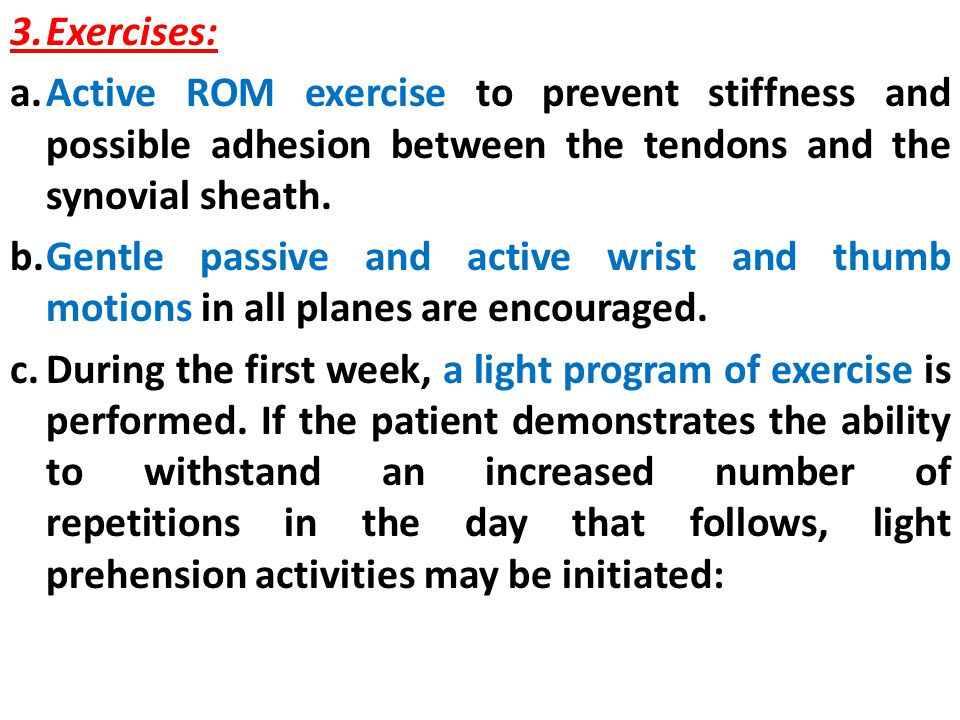 3. Exercises: a.