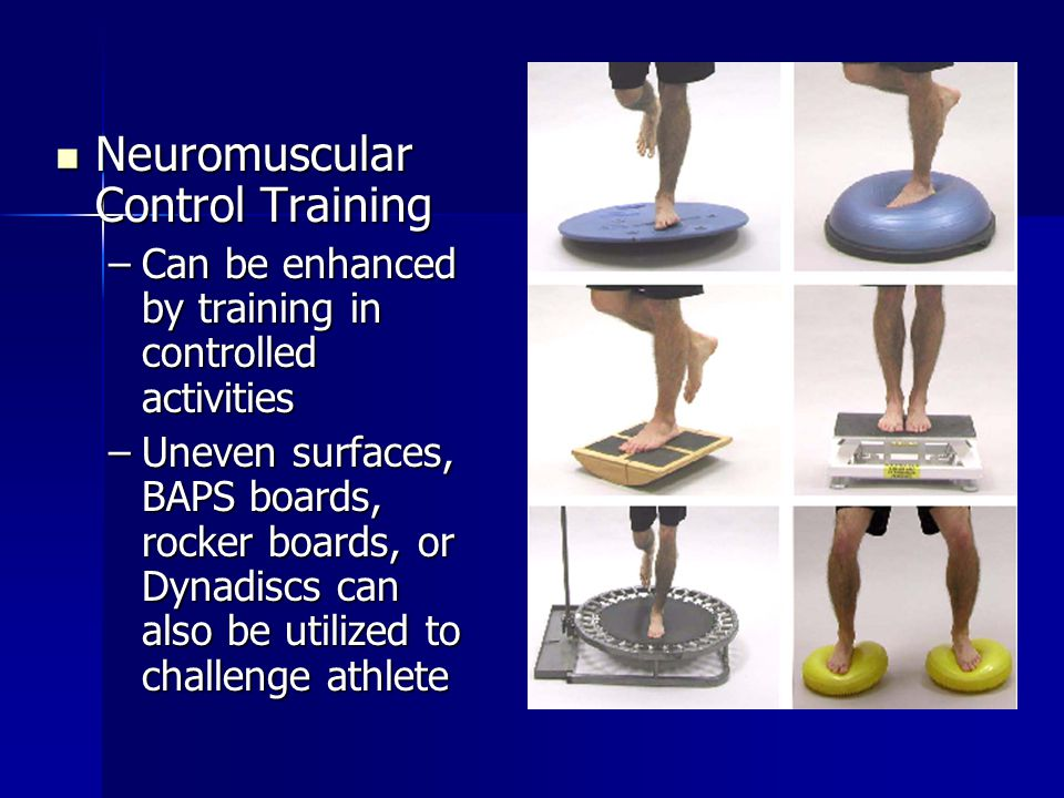 Neuromuscular Control Training