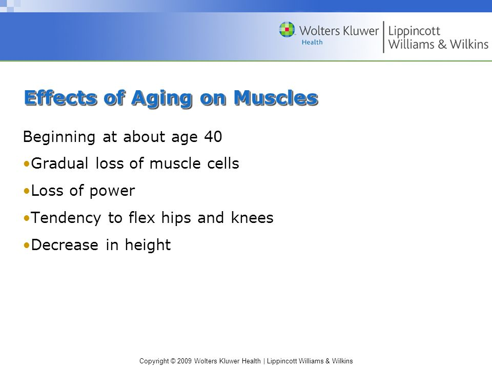 Effects of Aging on Muscles
