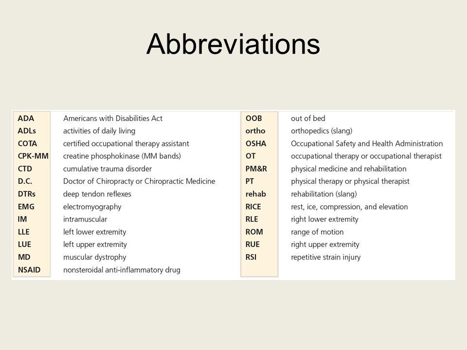 Abbreviations 70