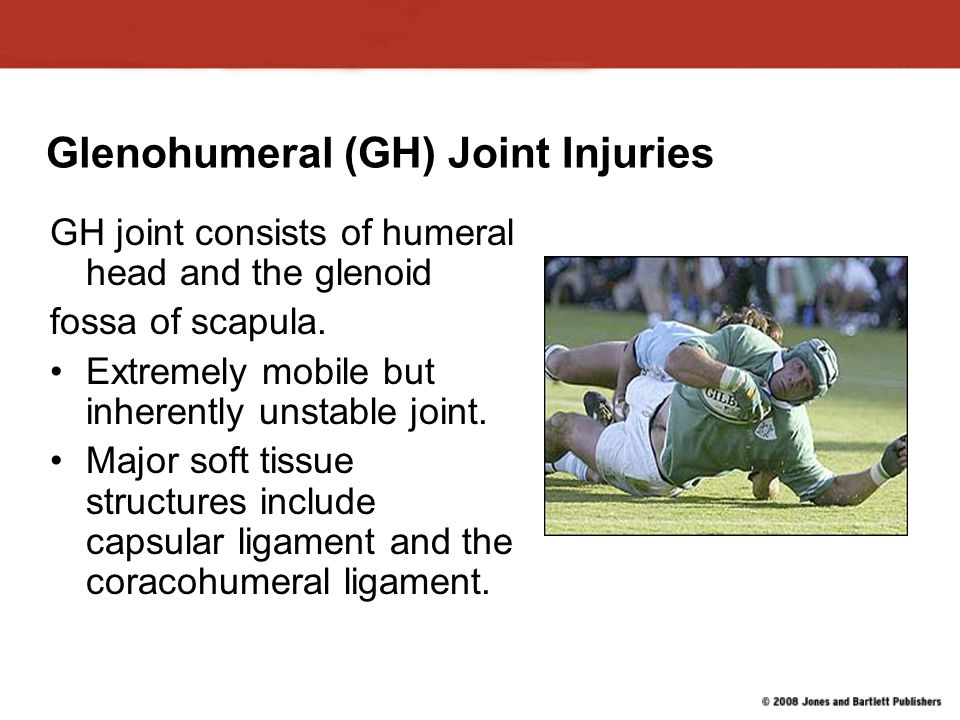 Glenohumeral (GH) Joint Injuries