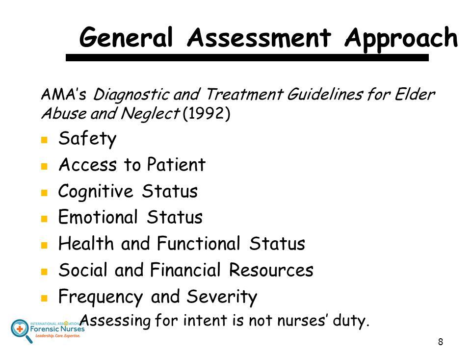 General Assessment Approach