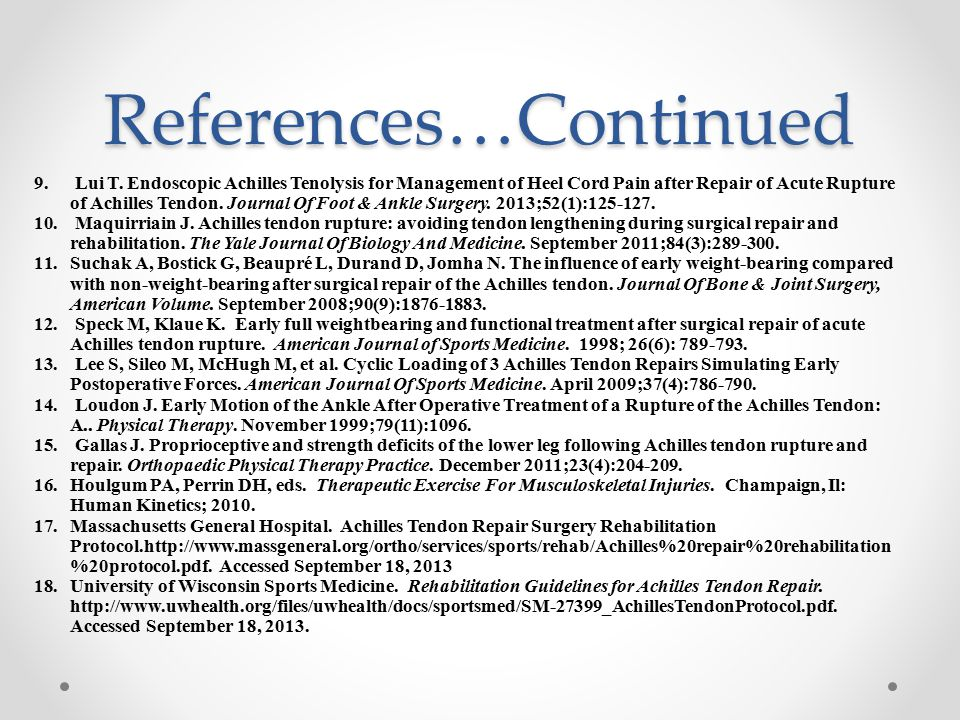 References…Continued