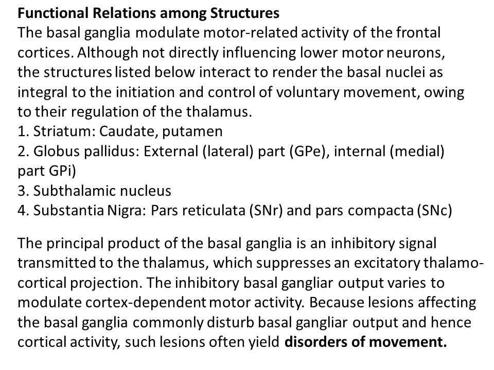 Functional Relations among Structures