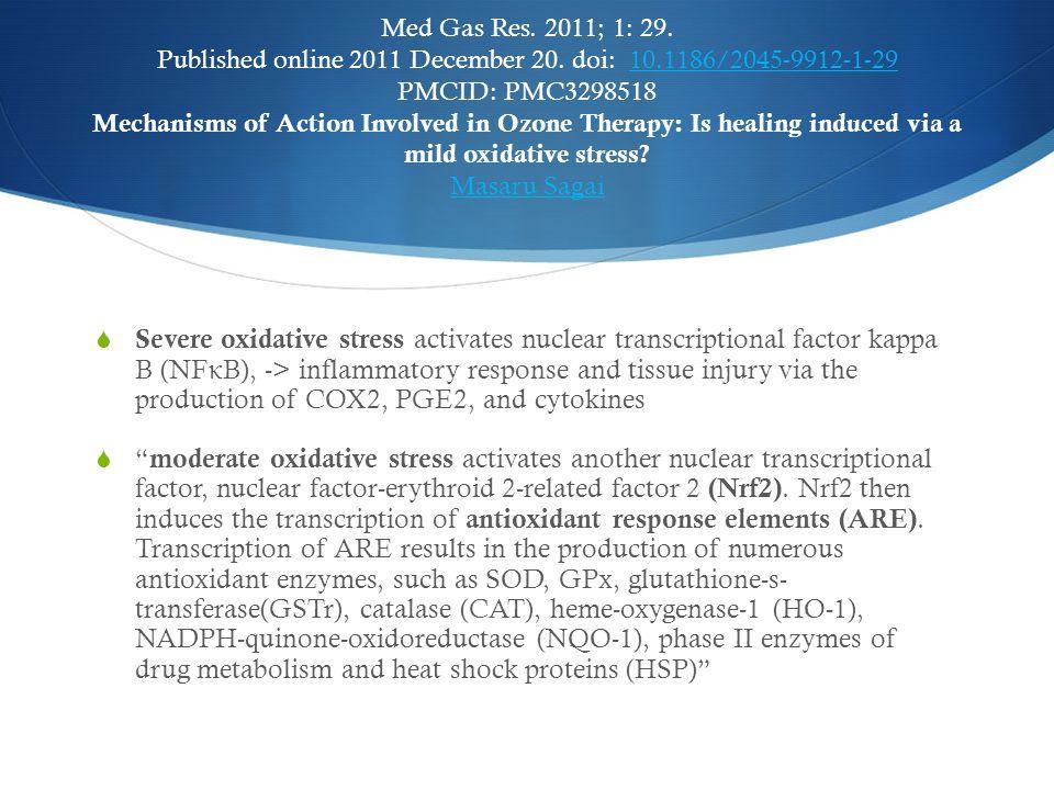 Med Gas Res. 2011; 1: 29. Published online 2011 December 20. doi: 10