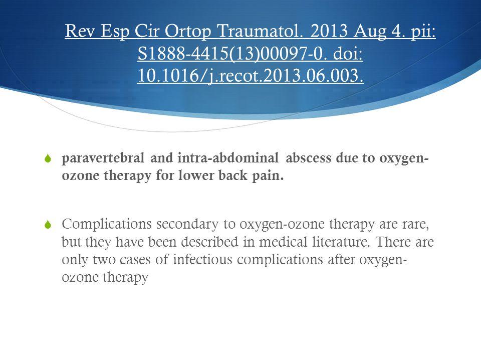 Rev Esp Cir Ortop Traumatol. 2013 Aug 4. pii: S1888-4415(13)00097-0