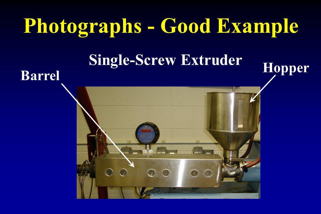 Photographs - Good Example