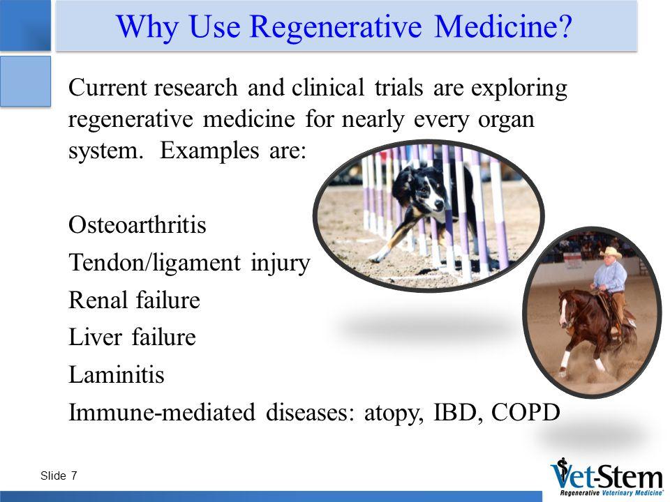 Why Use Regenerative Medicine