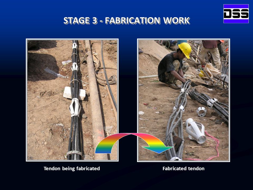 STAGE 3 - FABRICATION WORK