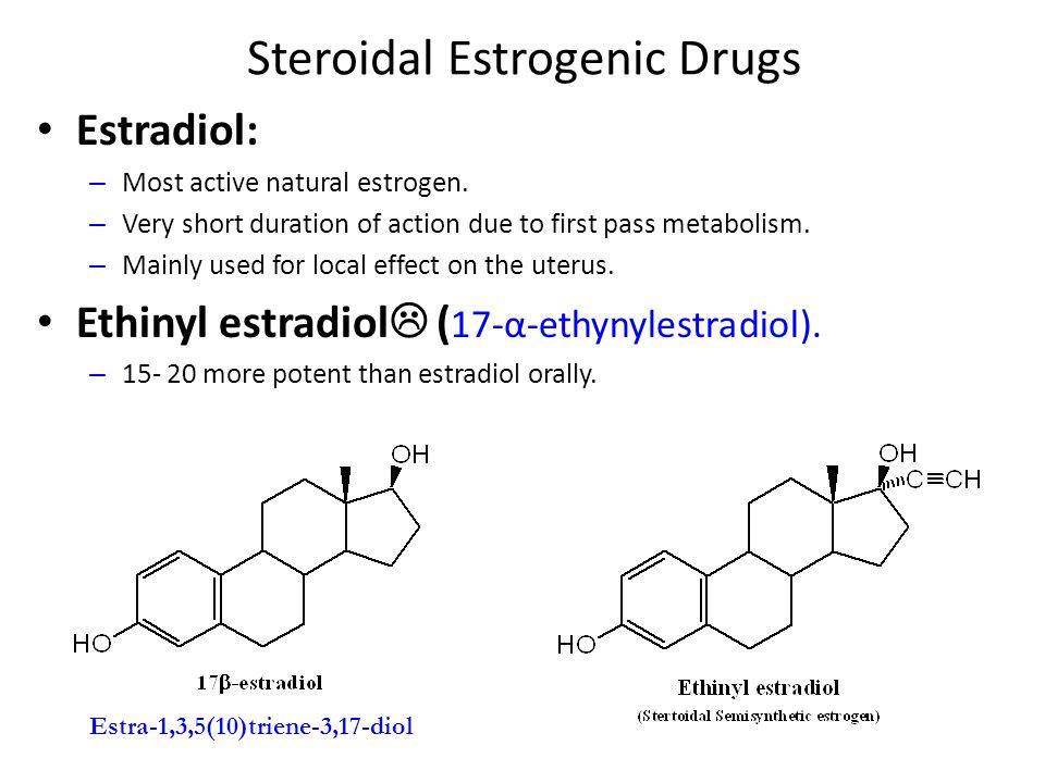 Steroidal Estrogenic Drugs