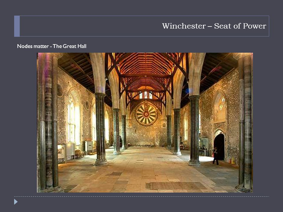 Winchester – Seat of Power