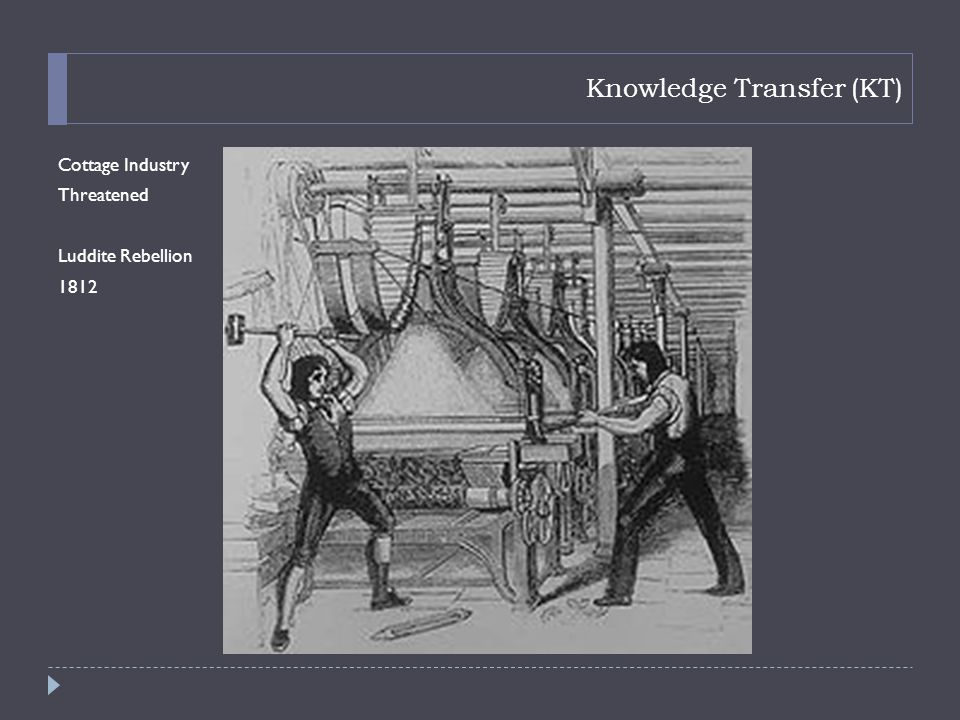 Knowledge Transfer (KT)