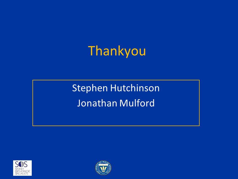 Stephen Hutchinson Jonathan Mulford
