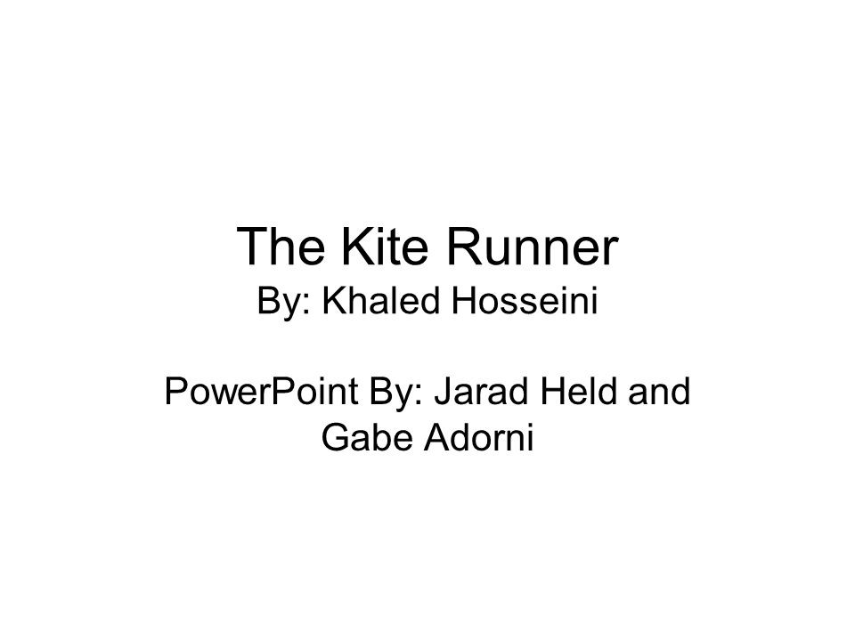 the kite runner by khaled hosseini ppt video online  the kite runner by khaled hosseini