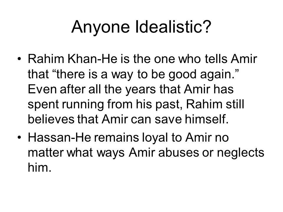 Anyone Idealistic