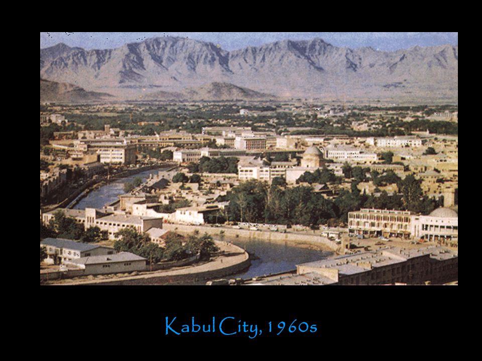 Kabul City, 1960s