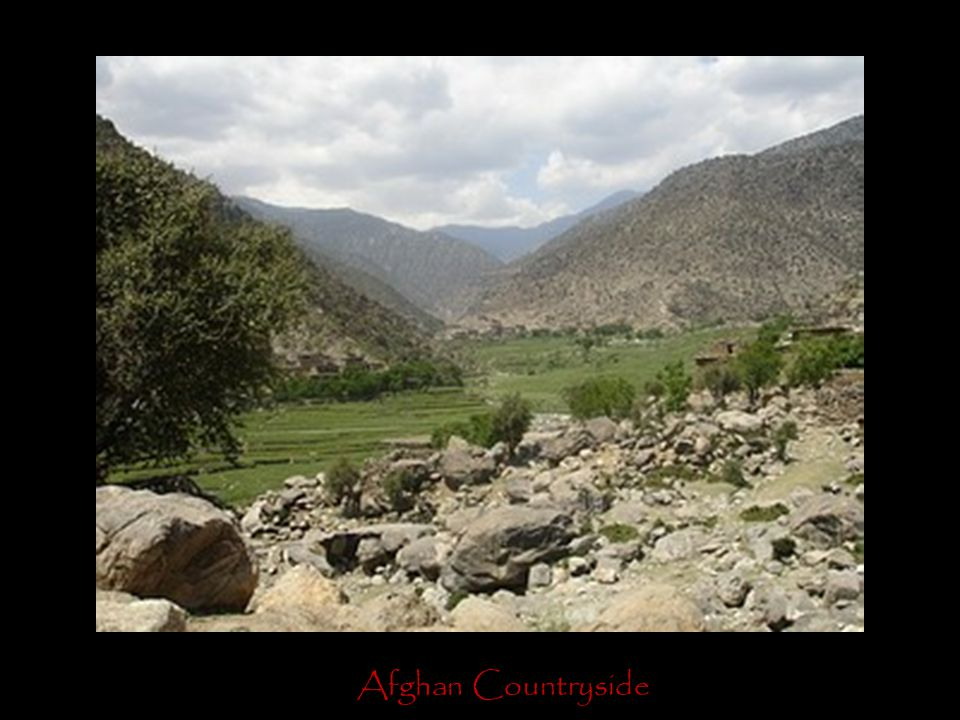 Afghan Countryside