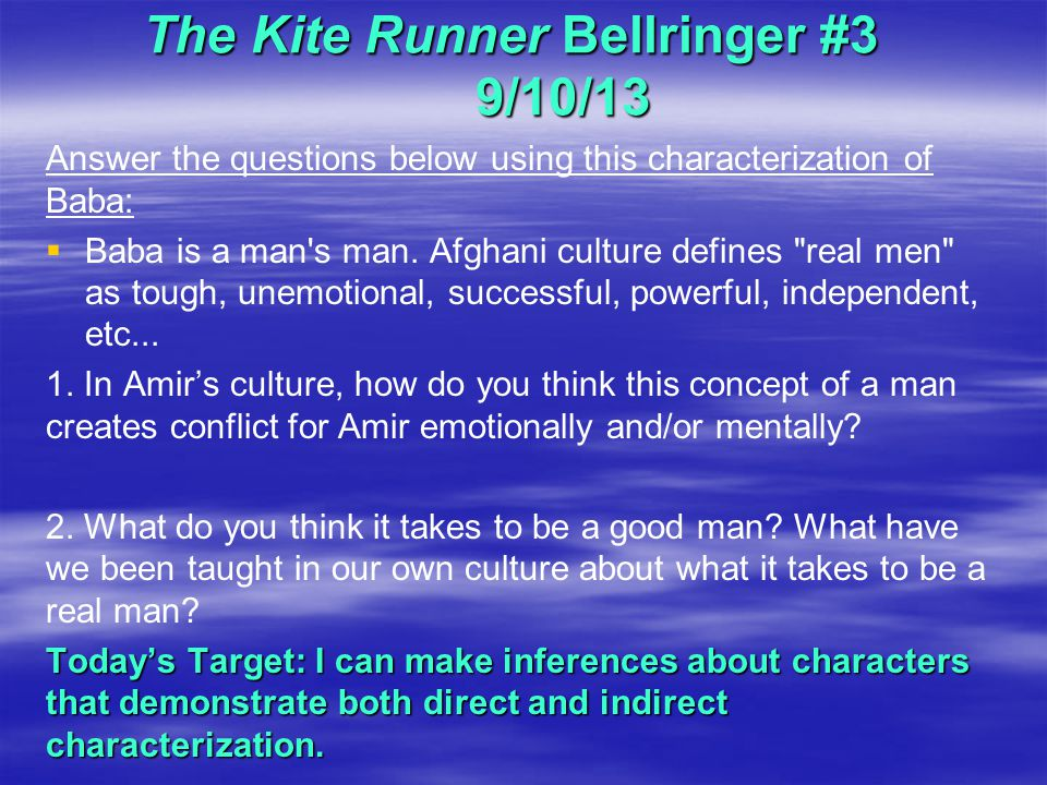 the kite runner dialogue essay Khaled hosseini writing styles in the kite runner khaled hosseini this study guide consists of approximately 41 pages of chapter summaries, quotes, character.