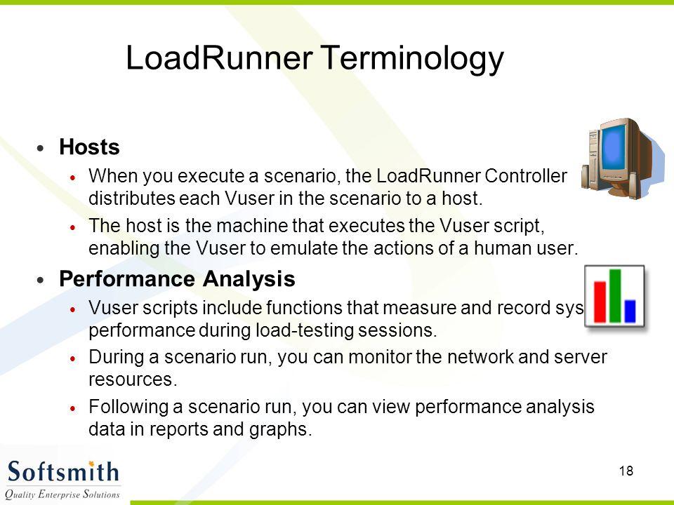 LoadRunner Terminology