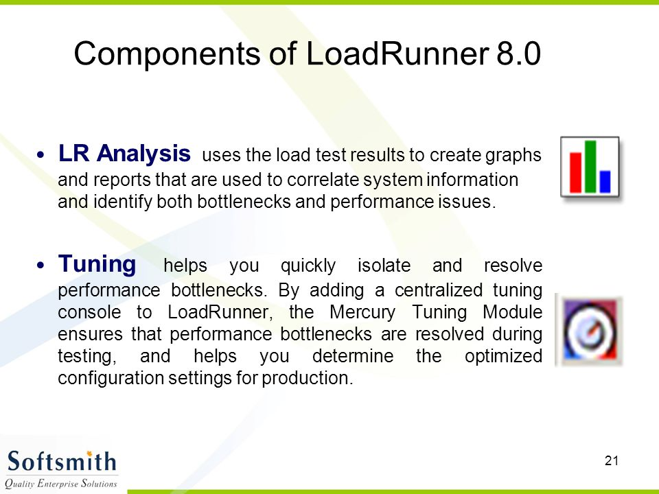 Components of LoadRunner 8.0