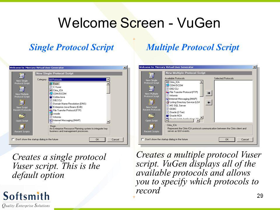 Single Protocol Script Multiple Protocol Script