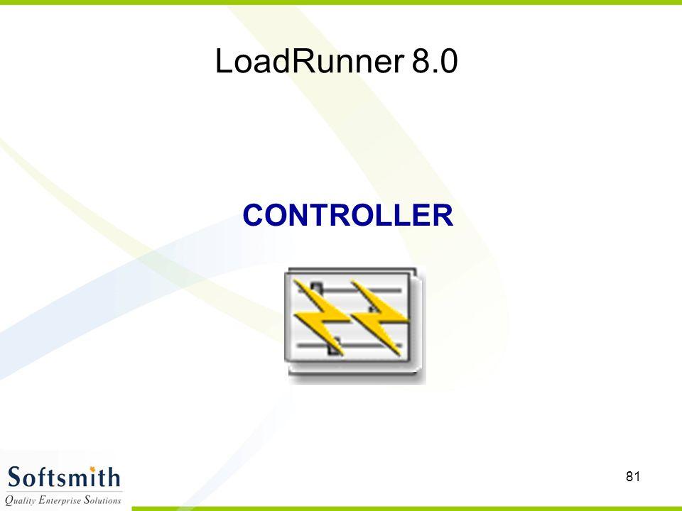 LoadRunner 8.0 CONTROLLER