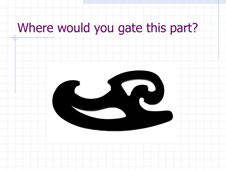 Where would you gate this part