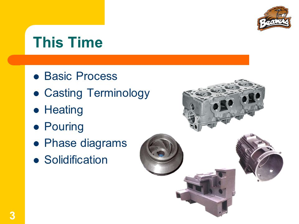 This Time Basic Process Casting Terminology Heating Pouring