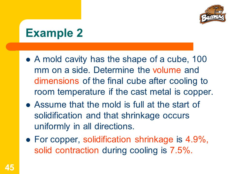 IE 337 Lecture 4: Metal Casting 1