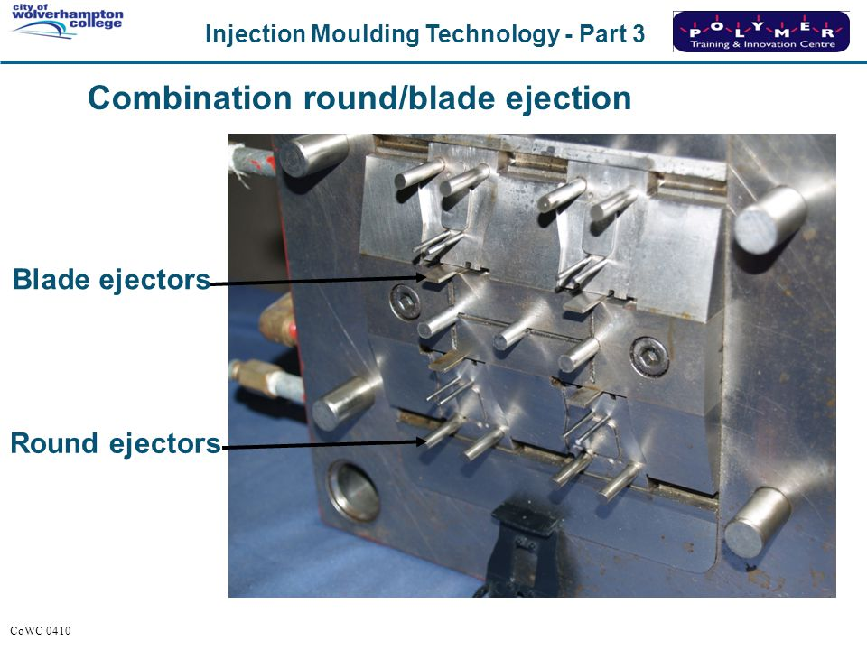 Combination round/blade ejection