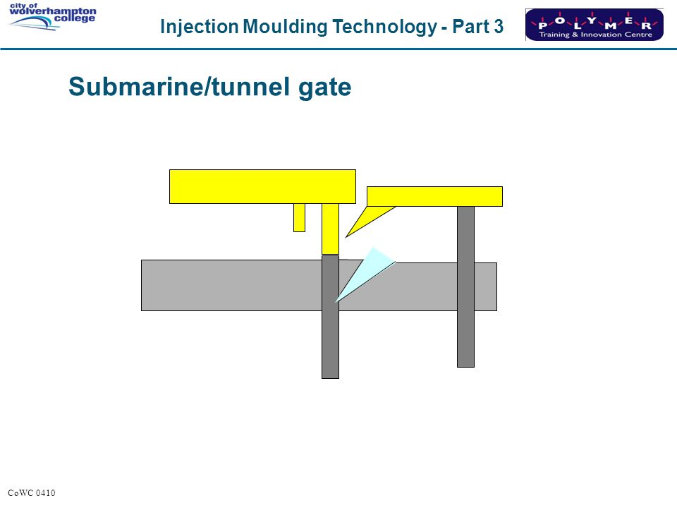 Submarine/tunnel gate