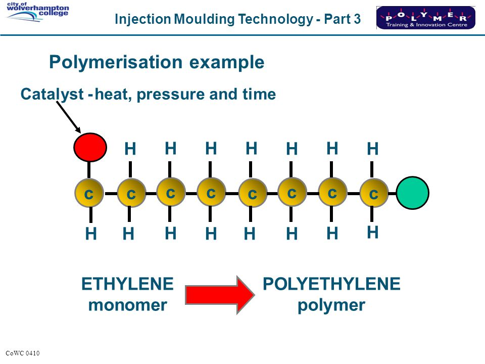 Polymerisation example