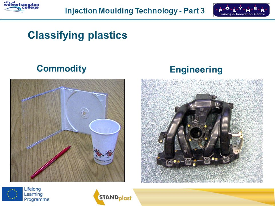 Classifying plastics Commodity Engineering