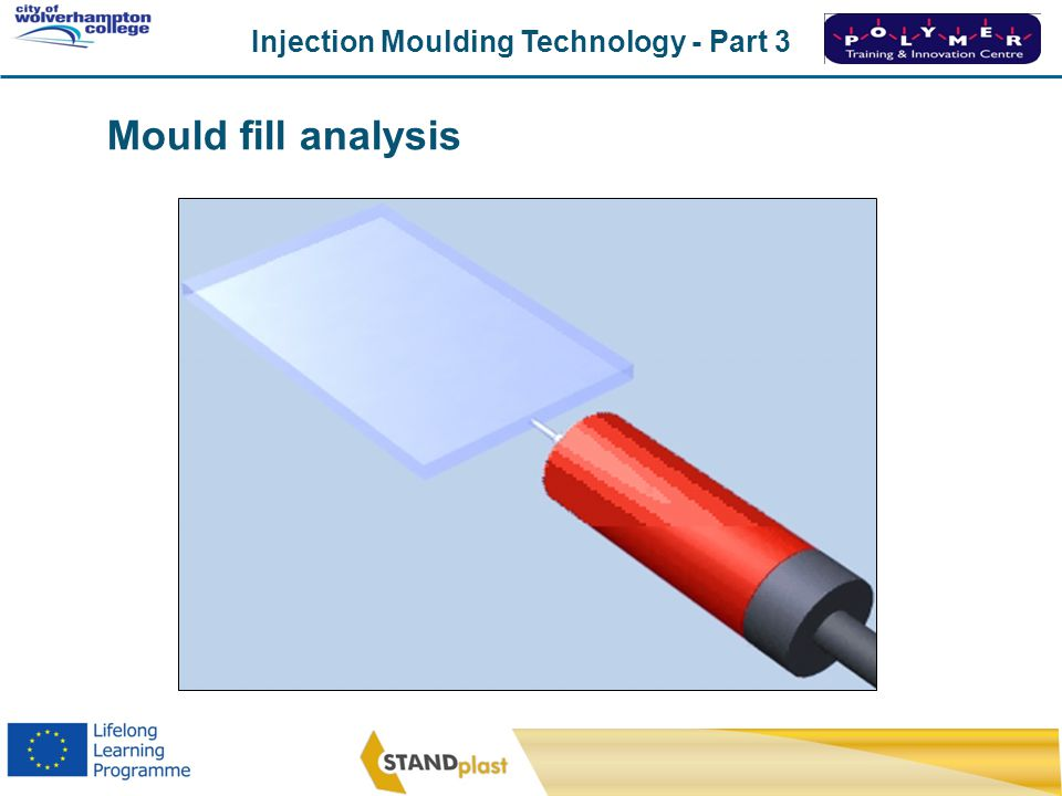 Mould fill analysis