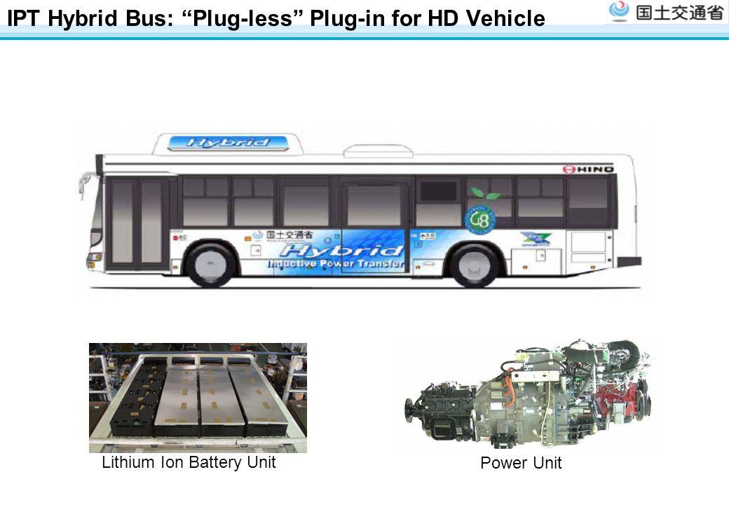 IPT Hybrid Bus: Plug-less Plug-in for HD Vehicle