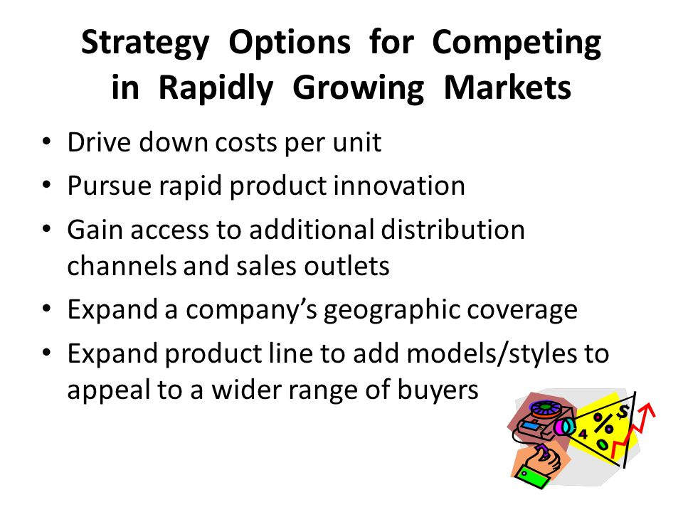 Strategy Options for Competing in Rapidly Growing Markets